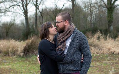 M&F, séance couple en hiver