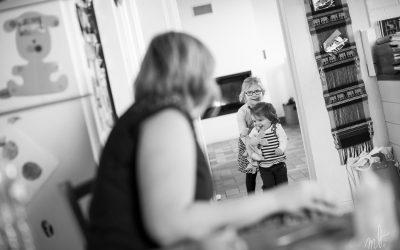 Reportage au quotidien, entre mère et filles