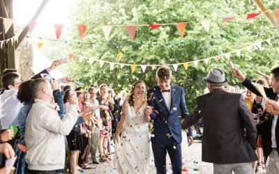 A&B, un mariage funky et champêtre